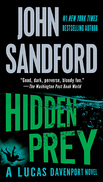 Hidden Prey, new US paperback
