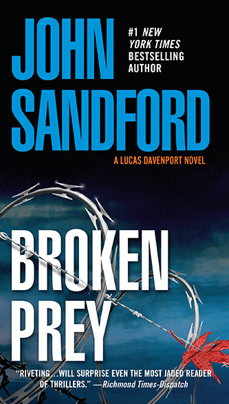 Broken Prey, tall paperback