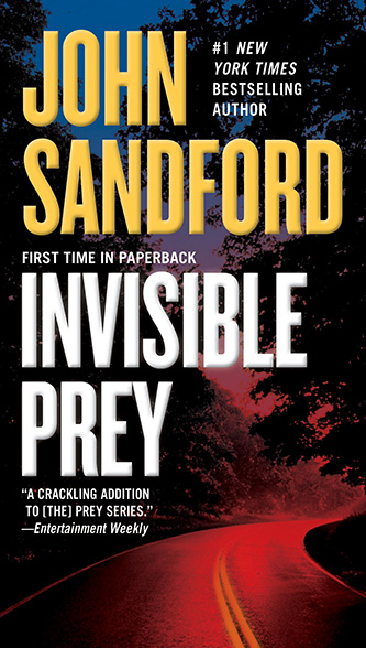 Invisible Prey, tall paperback