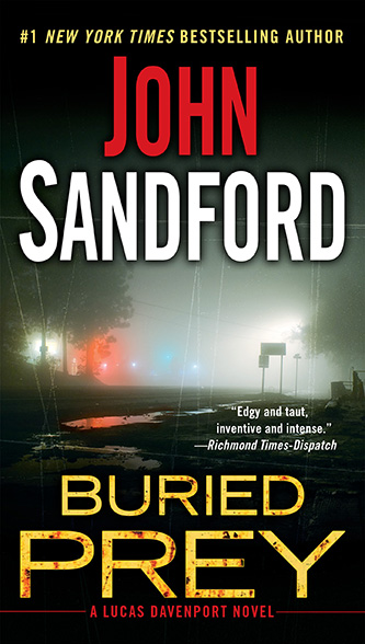 Buried Prey, tall paperback