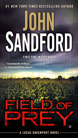 Field of Prey, US hardcover