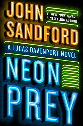 Neon Prey, US hardcover