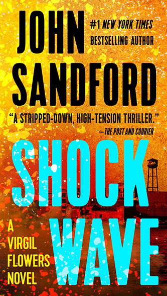 Shock Wave, tall paperback